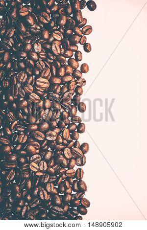 Coffee Beans Background-Lg Fridge Magnet Skin (size 36x65)