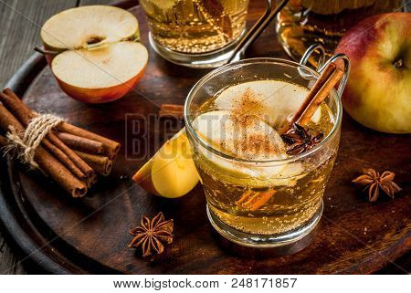 Autumn And Winter Drinks Traditional Home Made Apple