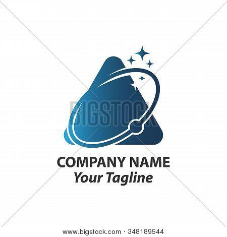 Vector Planet logo. Orbit vector and Satellite logo. Cosmos logo. Planet best logo. Planet concept logo. Planet web logo. Planet icon. Planet app icon. Science logo. Planet logo stock photo