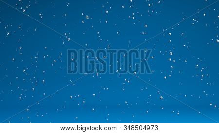 3D Rendering ,Realistic of air bubble flies in the air, empty space for copy, abstract texture for background. stock photo