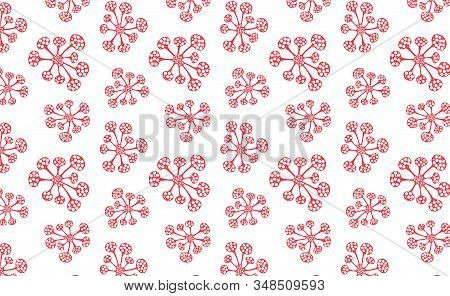 Seamless pattern bacteria biology organisms. Virus infection epidemic sick. Health background. Medical genetics bacteriological Microorganism. stock photo