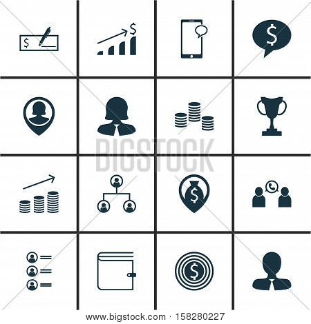 Set Of Hr Icons On Job Applicants Business Woman And Money Topics. Editable Vector Illustration. Includes Map Check Money And More Vector Icons. stock photo