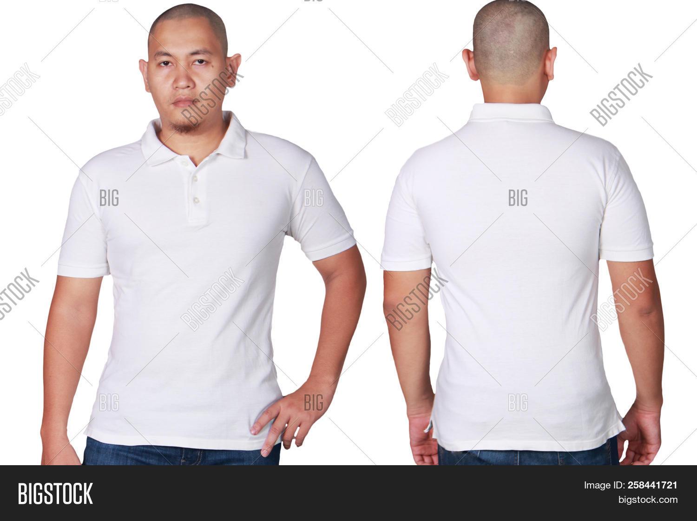 30bf4af3 🔥 Asian Male Model Wear Plain White Polo Shirt Mockup