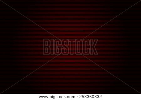 Abstract striped lined horizontal glowing background. Scan screen. Technological futuristic card with stripes. Vector illustration. stock photo