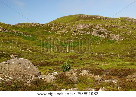 Scotland is full of beautiful landscapes where ever you look. The beauty of nature is hard to put into words. stock photo