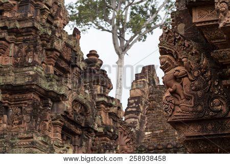 Th century khmer sandstone buddha shrine cambodia ebay