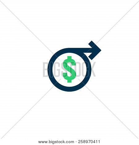 money transfer Icon. Chargeback contour sign. quick fund cash back symbol. Currency exchange refinance. Return on investment. Refund stock market business. Vector line illustration. stock photo