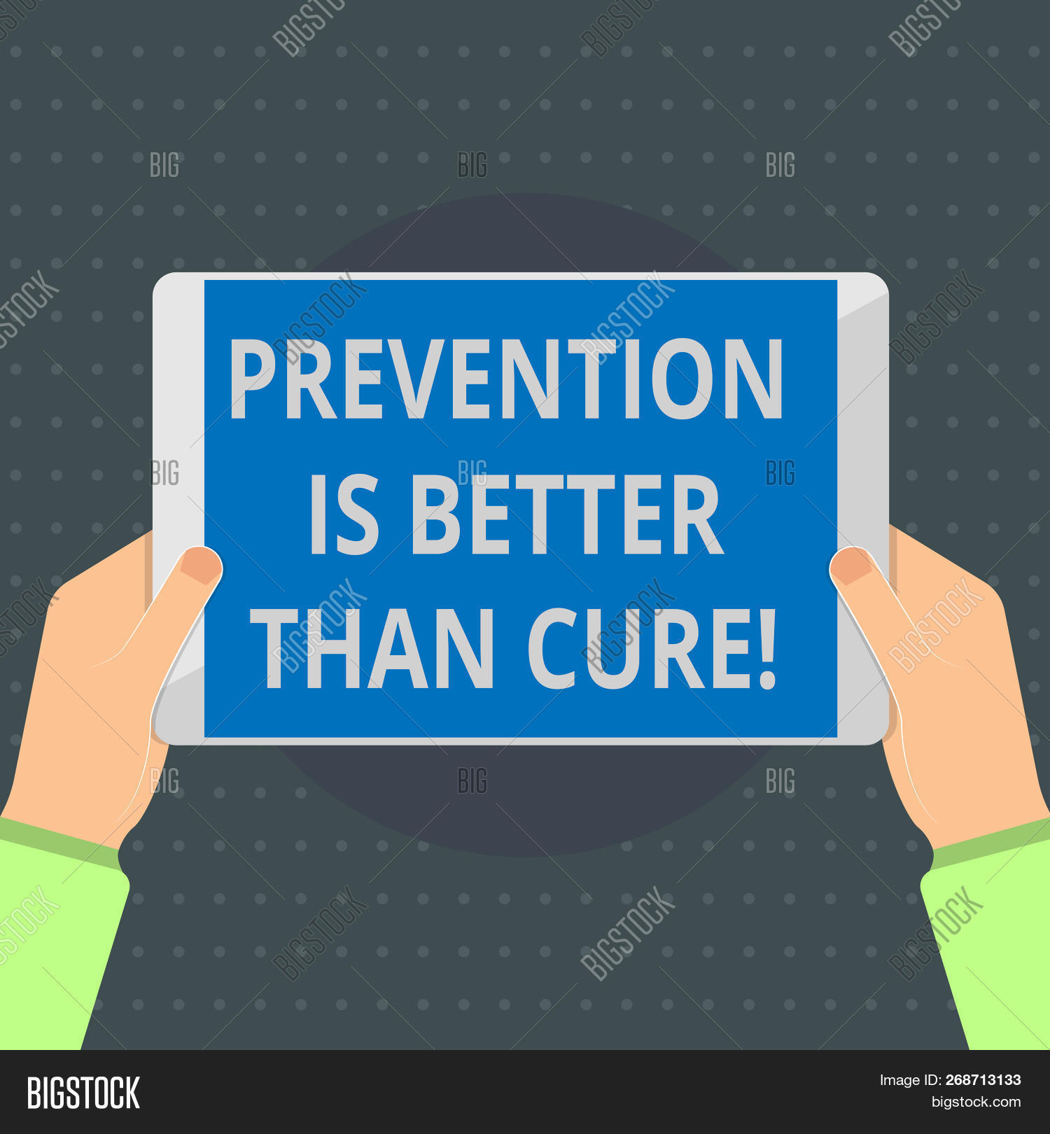 Text sign showing Prevention Is Better Than Cure. Conceptual photo Disease is preventable if identified earlier
