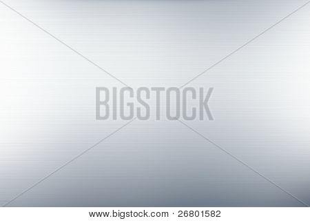 an image of a grey smooth brushed metal background stock photo