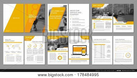 Design annual report, vector template brochures, flyers, presentations, leaflet, magazine a4 size. Minimalistic design background