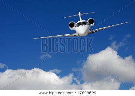 Pilotage de jet privé