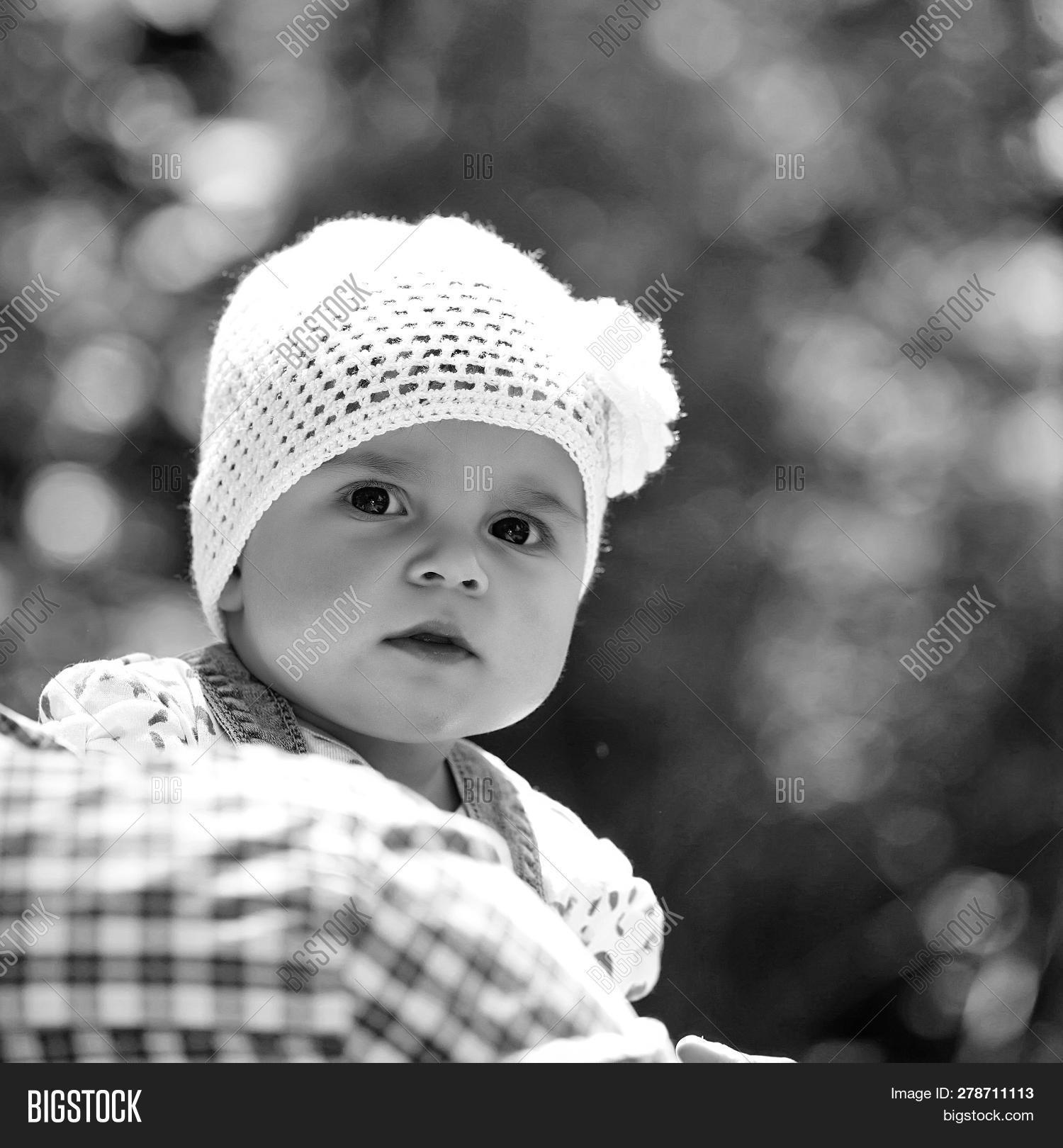 530df992dc4 🔥 Baby Girl Cute Hazel-eyed Kid Tiny Little Child Wearing White ...