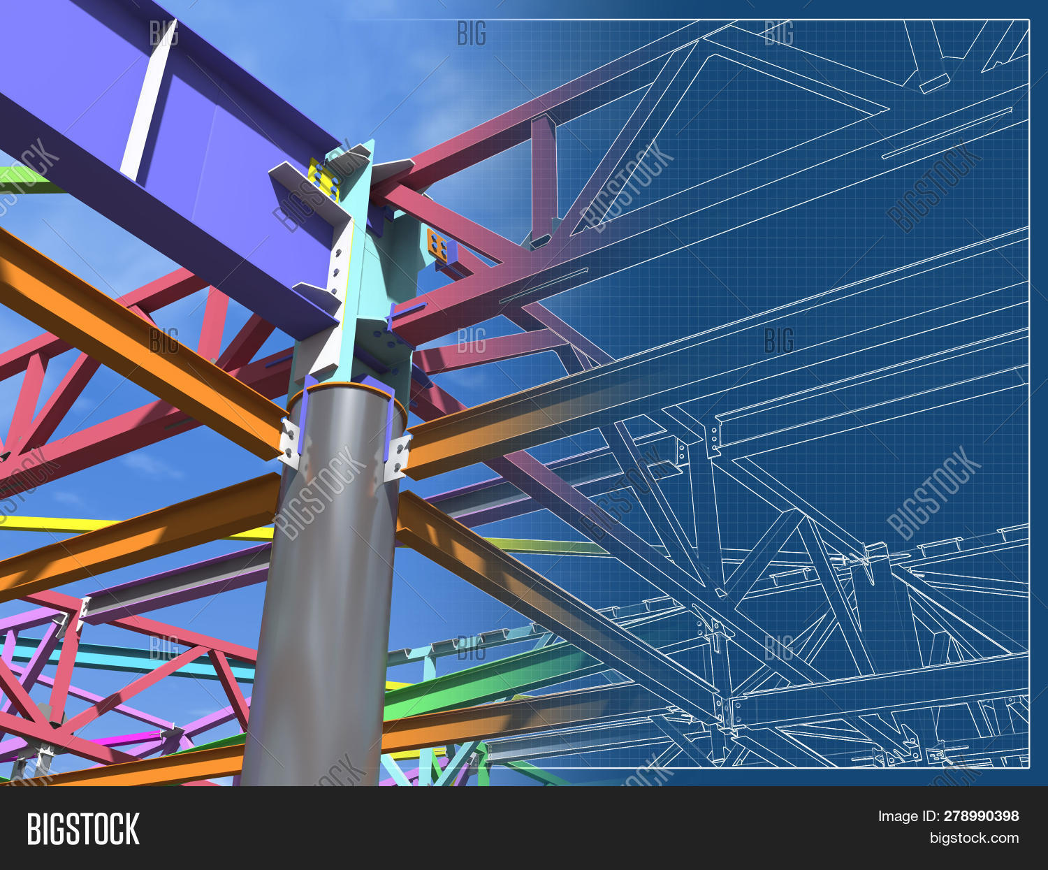 3d,BIM,architecture,background,beam,blueprint,bolt,brown,builder,building,channel,city,columns,construction,down,drawing,energy,engineer,engineering,exterior,factory,frame,framework,gas,industrial,industry,ladder,material,metal,model,modern,nature,pattern,pipe,plant,project,render,shiny,site,sky,staircase,steel,structure,technology,tower,urban,view,wire