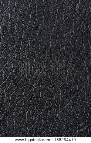 Pattern Of Black Leather-Lg Fridge Magnet Skin (size 36x65)