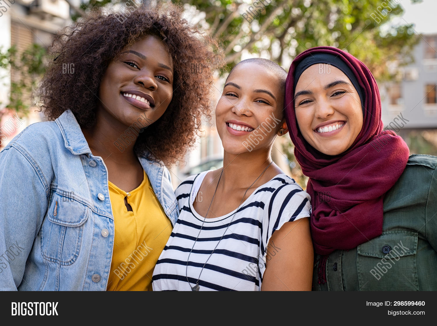 african,american,arabic,beautiful,black,bonding,carefree,casual,college,cultural,cultural differences,curvy woman,curvy women,different cultures,diversity,diversity people,enjoy,freedom,friend,friends,friendship,fun,girl,girls,group,happy,hijab,integration,interracial,islamic,islamic woman,joyful,laughing,looking,looking at camera,multi ethnic group,multicultural,multiethnic,multiracial,outdoor,outdoors,people,portrait,real,smiling,student,three,together,woman,young