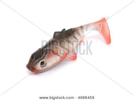 fishing tackle insulated on à white background stock photo