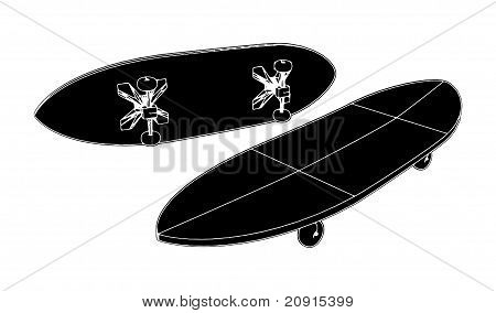 Skateboard Vector 05.eps