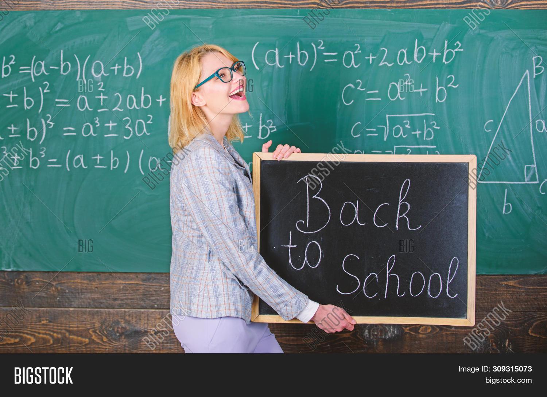 School Teacher Glad To Welcome Pupils. Great Beginning Of School Year. Top Ways To Welcome Students