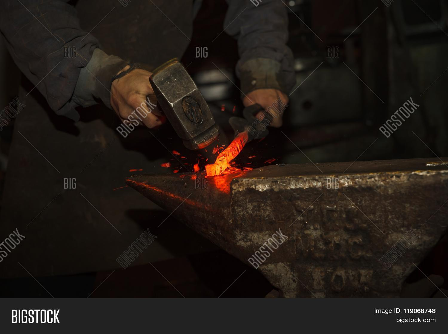 anvil,art,bending,blacksmith,blacksmithing,closeup,craft,creativity,farrier,forging,glowing,hammer,history,hobbies,homemade,hummering,iron,manual,master,metal,metalsmith,old,profession,red,shaping,shop,smith,sparks,steel,vintage,work,worker,working