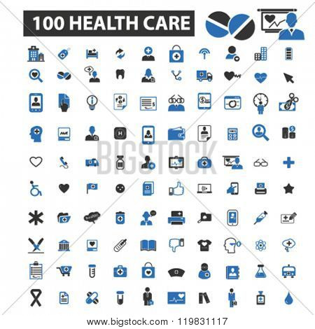 health care icons, health care logo, health care vector, health care flat illustration concept, heal