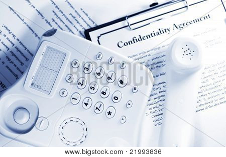 Data recovery confidentiality agreement