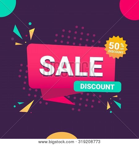 Special Offer Sale Tag Discount Symbol Retail Sticker Sign Price Isolated Modern Graphic Style Vecto