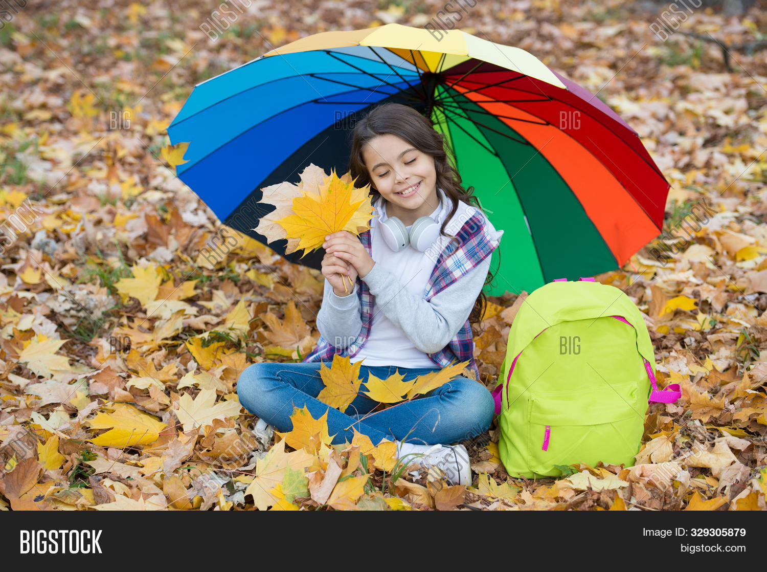 accessory,adorable,autumn,background,case,casual,child,childhood,color,colorful,cute,dry,enjoy,fall,fallen,fashion,fashionable,girl,gorgeous,hair,headphones,her,it,keep,kid,leaves,little,long,look,lovely,music,rain,rainbow,rainy,school,schoolchild,season,sit,small,style,stylish,trend,trendy,umbrella,under,weather