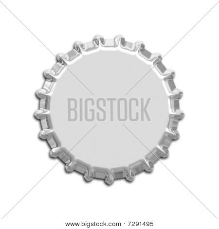 An illustration of a nice bottle cap stock photo