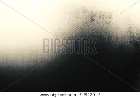 Abstract Black Background, Old Black Vignette Border Frame White Gray Background, Vintage Grunge Bac