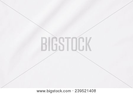 White background, Close up background of white fabric or abstract white fabric texture use for web design and white background stock photo