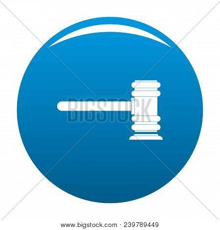 Legislation icon. Simple illustration of legislation vector icon for any design blue stock photo