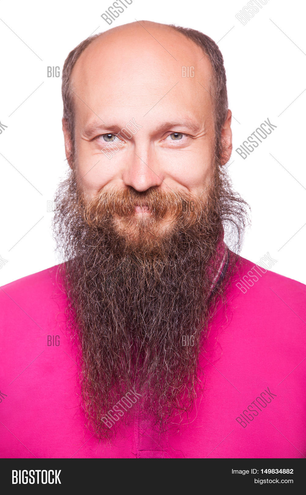 closeup,beauty,lucky,cool,shirt,successful,purple,white,camera,pink,smile,bearded,indoors,confidence,joyful,40s,vitality,red,mature,portrait,satisfied,cheerful,one,attitude,beautiful,joy,model,emotion,content,happy,men,happiness,bald,brown,positive,lifestyles,domestic,glad,funny,attractive,looking,success,satisfaction,beard,aspirations,isolated,caucasian,face,adult,male