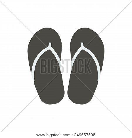 86495a0e746e 🔥 Flip Flop Icon Vector. Beach Flops Symbol Isolated. Trendy Flat Ui Sign  Design. Flip-flop Graphic Pi