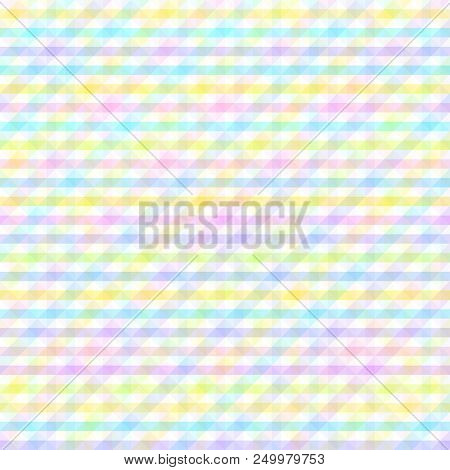 Seamless pattern. Multicolored unique background. Abstract geometric wallpaper of the surface. Bright colors. Print for polygraphy, t-shirts and textiles. Pretty texture. Doodle for design stock photo