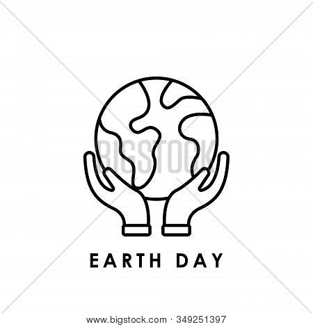 Earth. Earth environment icon. Earth day icon. Earth day vector. Earth day icon vector. Earth day logo. Earth day symbol. Earth icon isolated on white background. Earth day icon sign for logo, web, app, UI. Earth icon flat vector illustration. stock photo