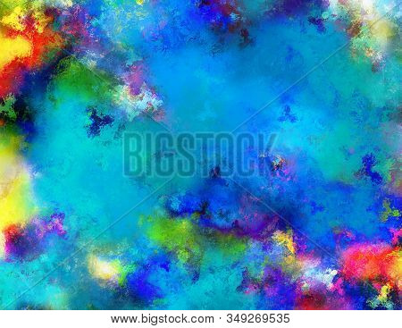 Colorful abstract backgtound. 3D rendering stock photo