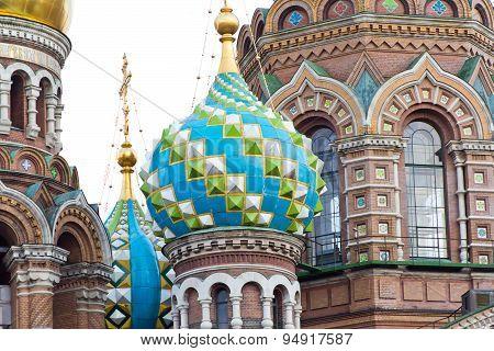 Orthodoxy Church In Petersburg
