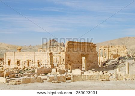 Palmyra Ruins - Syria (Before Civil War) stock photo
