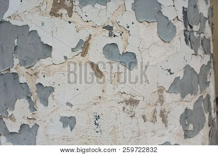 White Plastered Brick Wall Texture. Whitewash Brick Wall Seamless Surface. Abstract White Wash Background. White Brickwall Wallpaper. stock photo