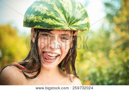 Crazy teenager. Bye summer. Hello autumn. Funny face. Crazy people. Happy people having fun. Surprised woman stock photo