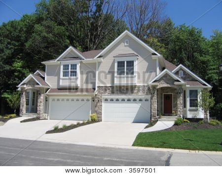 Duplex Two Family Home