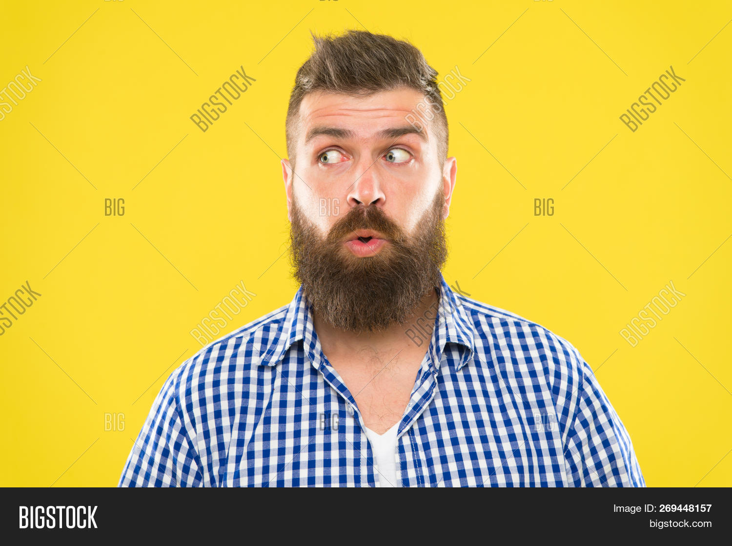 adult,background,beard,bearded,brutal,brutality,casual,caucasian,close,emotion,emotional,expression,eyes,face,guy,handsome,hipster,macho,male,man,masculinity,mustache,news,open,rustic,shirt,stunned,style,stylish,surprise,surprised,surprising,unshaven,up,wide,wonder,wondering,yellow,young
