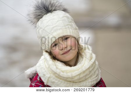 0c1639bcff3 🔥 Portrait Of Cute Little Young Funny Pretty Smiling Blond Child ...