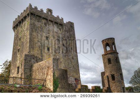 Medieval Blarney Castle in Co. Cork - Ireland stock photo