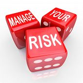 Manage Your Risk in a perilous world, organization, working environment or undertaking by decreasing