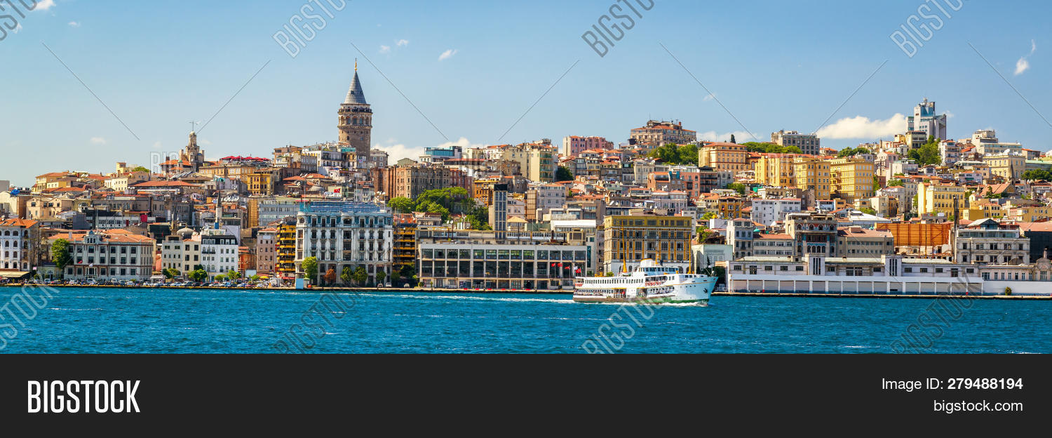 attraction,banner,beautiful,beyoglu,blue,bosphorus,building,city,cityscape,coast,cruise,destinations,embankment,europe,famous,galata,golden,horizontal,horn,istanbul,landmark,landscape,liner,old,outdoor,panorama,panoramic,photo,popular,scenery,scenic,sea,ship,sky,summer,sunny,tour,tourism,tourist,tower,town,travel,trip,turkey,turkish,urban,vacation,view,water,waterfront