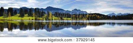 Paysage vaste panorama
