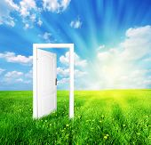 Door to new world. See likewise distinctive forms of this awesome idea!