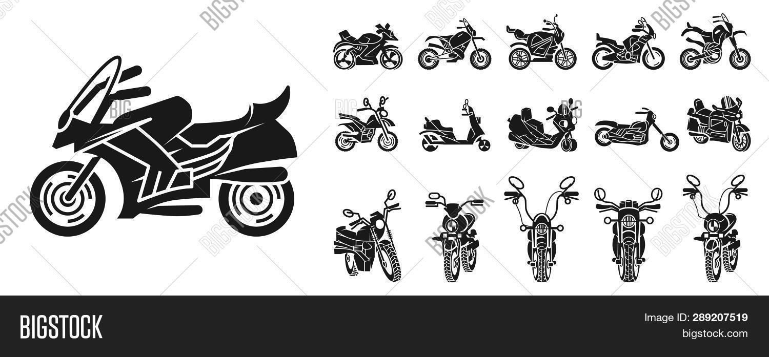 bicycle,bigbike,bike,biker,black,car,chopper,classic,collection,cycle,design,drive,engine,extreme,fast,front,icons,illustration,isolated,modern,moto,motocross,motocycle,motor,motorbike,motorcycle,object,pictogram,powerful,race,retro,ride,rider,road,scooter,set,sign,silhouette,simple,speed,sport,symbol,touring,transport,transportation,travel,vehicle,vintage,wheel