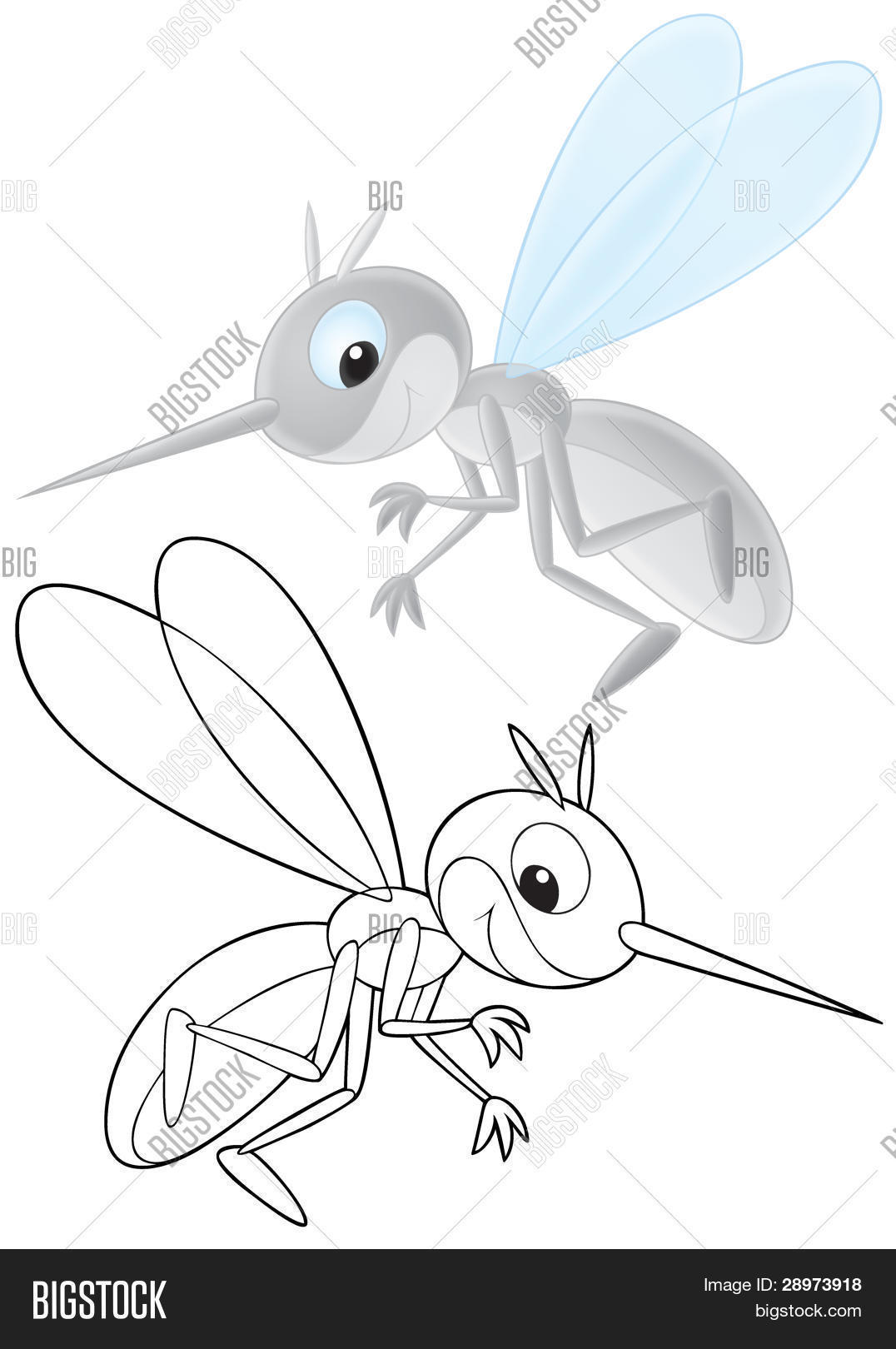 Mosquito coloring pages | Free Coloring Pages | 1620x1076
